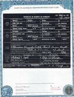 Bratt, G and M. Cutter Marriage Cert