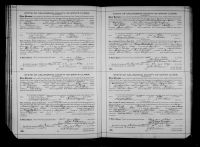 Cutter, Win and Marie Louise Conkey Marriage Record