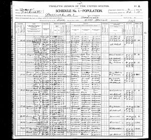 Billingsley, William, 1900, Census, USA, Rockwall, Rockwall, Texas