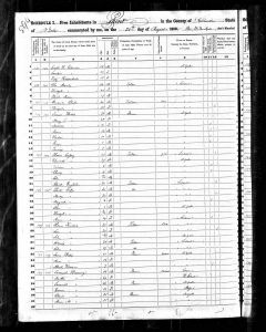 Census 1850 Ghent, Columbia, New York, USA Year: 1850; Census Place: Ghent, Columbia, New York; Roll: M432_492; Page: 297B; Image: 114
