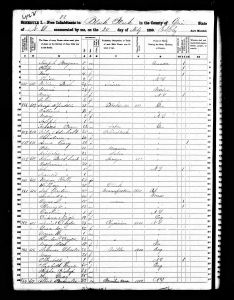 Speidel, Max Joseph, 1850, Census, USA, Black Rock, Erie, New York, USA