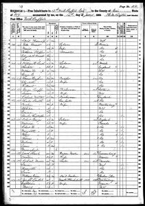 Speidel, Max Joseph, 1860, Census, USA, Black Rock, Erie, New York, USA