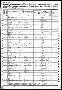 Balthasar, Henry, 1860, Census, USA, Buffalo Ward 12, Erie, New York