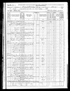 Clement, Henry A, 1870, Census, USA, Albany Ward 10, Albany, New York