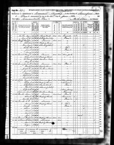 Bratt, Henry David, 1870, Census, USA, Conneaut, Crawford, Pennsylvania