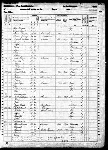 Luper, John A, 1860, Census, USA, Linn, Oregon