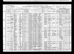 Luper, George B, 1910, Census, USA, Meadville Ward 2, Crawford, Pennsylvania