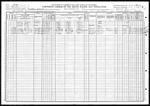 Luper, James Martin, 1910, Census, USA, Matteson, Morrow, Oregon