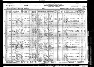 Smith, Fountain Morris, 1930, Census, USA, Anaheim, Orange, California