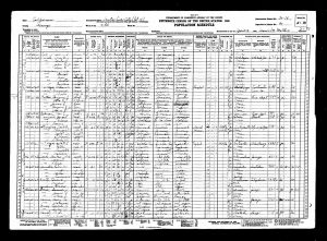 Census 1930 4th Ward, Santa Ana, Orange, California FHL microfilm: 2339917