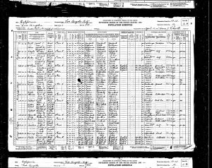 Bratt, Gerrit Teunis, 1930, Census, USA, Los Angeles, Los Angeles, California
