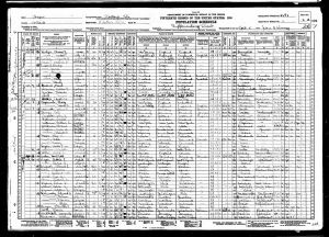 Eleanor Gladys, 1930, Census, USA, Portland, Multnomah, Oregon