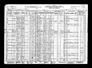 Cutter, Edward Ahern, 1930, Census, USA, Berkeley, Alameda, California