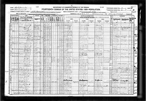 Cutter, Winthrop Jackman, 1920, Census, USA, Sacramento, California