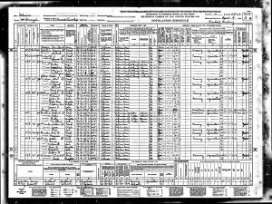 Dunbar, Carl H, 1940, Census, USA, Bardolph, McDonough, Illinois