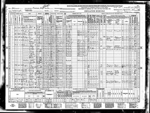 Luper, LeRoy, 1940, Census, USA, Prairie City, McDonough, Illinois