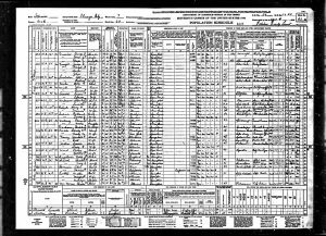 Rodriguez-Larrain, Abel, 1940, Census, USA, Chicago, Cook, Illinois, USA