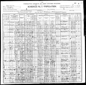 Fisher, Henry Spencer, 1900, Census, USA, Albany, Albany, New York, USA