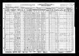 Smith, William Jasper, 1930, Census, USA, Fullerton, Orange, California