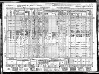 Ringo, George Bert, 1940, Census, USA, Monterey, Monterey, California