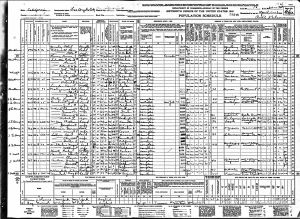 McClaugherty, Sidney Earl, 1940, Census, USA, Los Angeles, Los Angeles, California