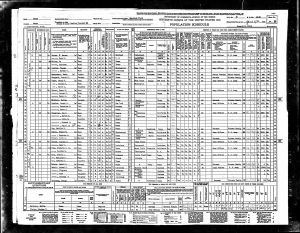 Luper, James R, 1940, Census, USA, Bexar, Texas