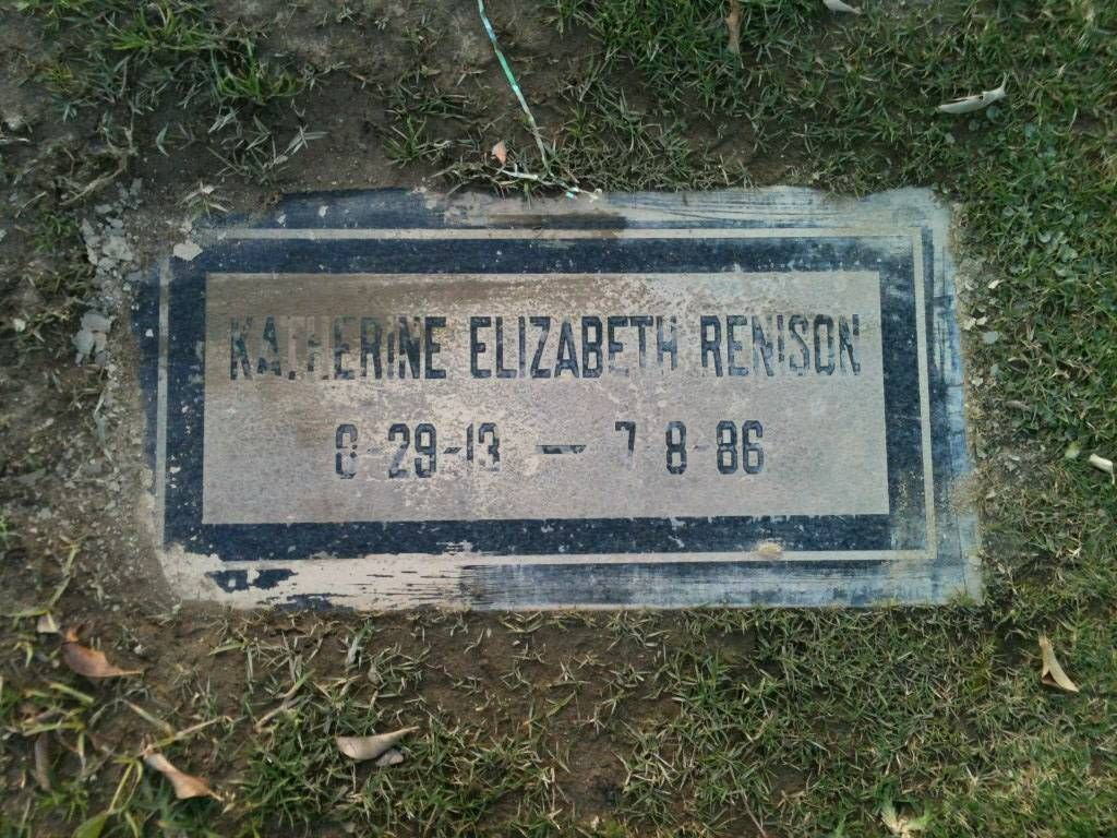Smith, Katherine - Headstone, Ahaheim Cemetery