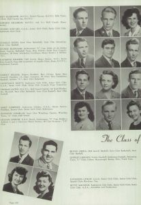 Larrain, George, Senior HS Yearbook (1944)